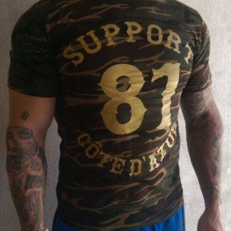 T-shirt camouflage Support 81 Côte d'Azur