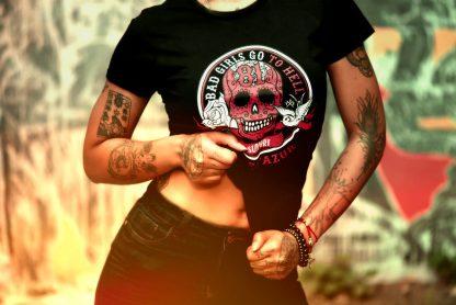 t-shirt support 81 côte d'azur pour les femmes