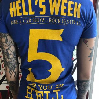 T-shirt femmme Hell's Week 2019
