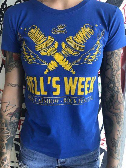 T-shirt femmme Hell's Week 2019