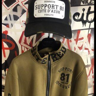 Support 81 Côte d'Azur casquette camouflage